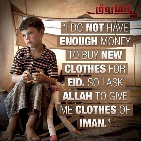 Ya Allah kurniakanlah kami pakaian taqwa.
